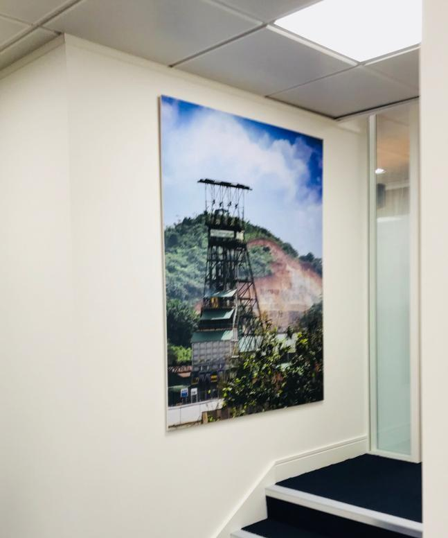 Full-Colour Large Print For La Mancha Office In London