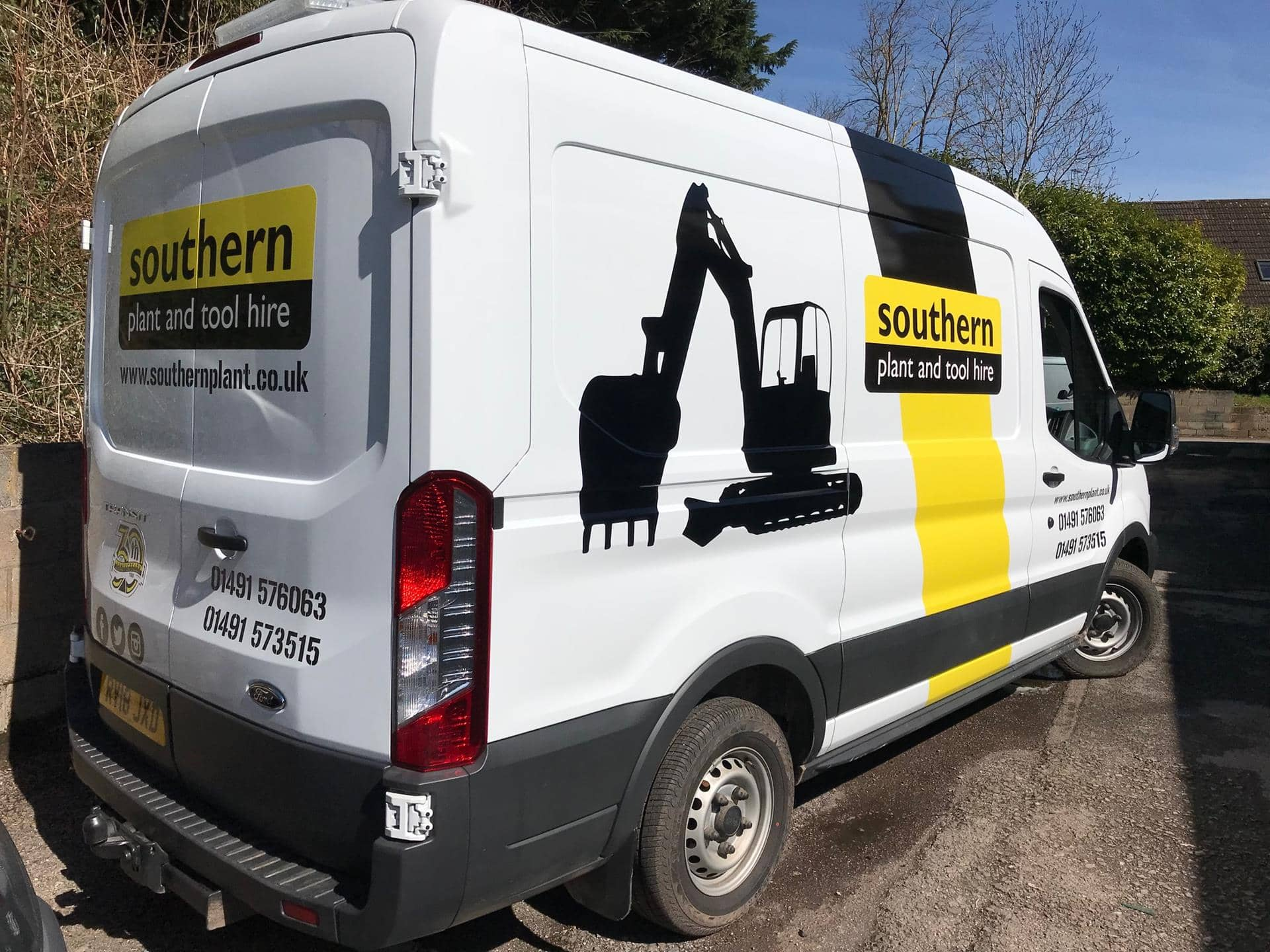 Full Colour Vehicle Wrap For Southern Plant