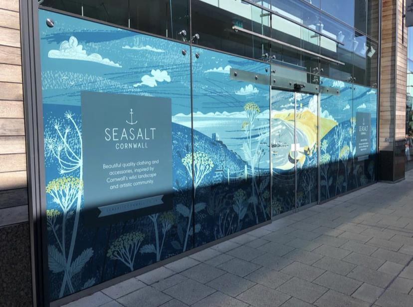 Full Colour Window Graphics Applied To Multiple Stores Around The UK