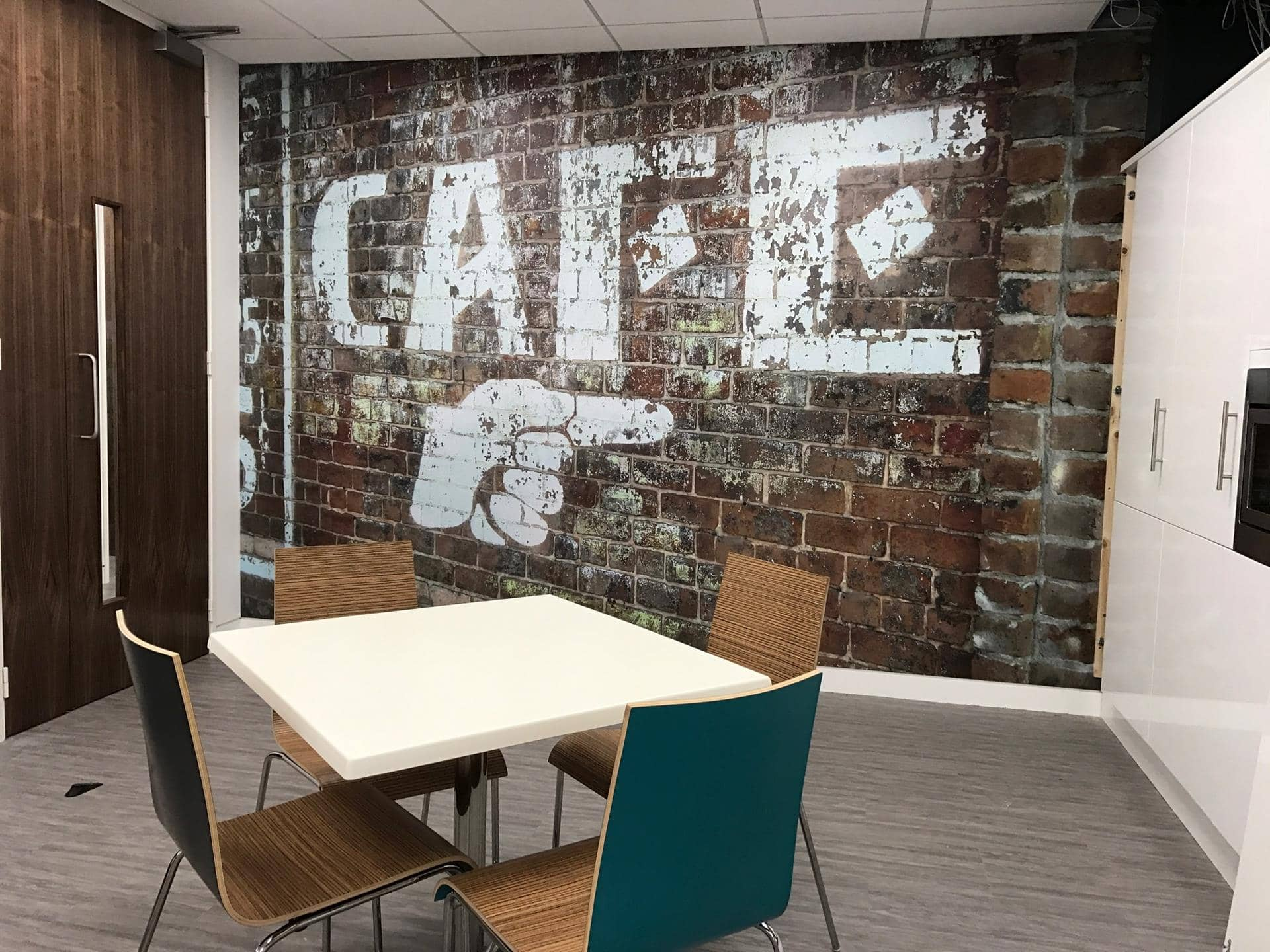 Office Interior Wall Graphics in London
